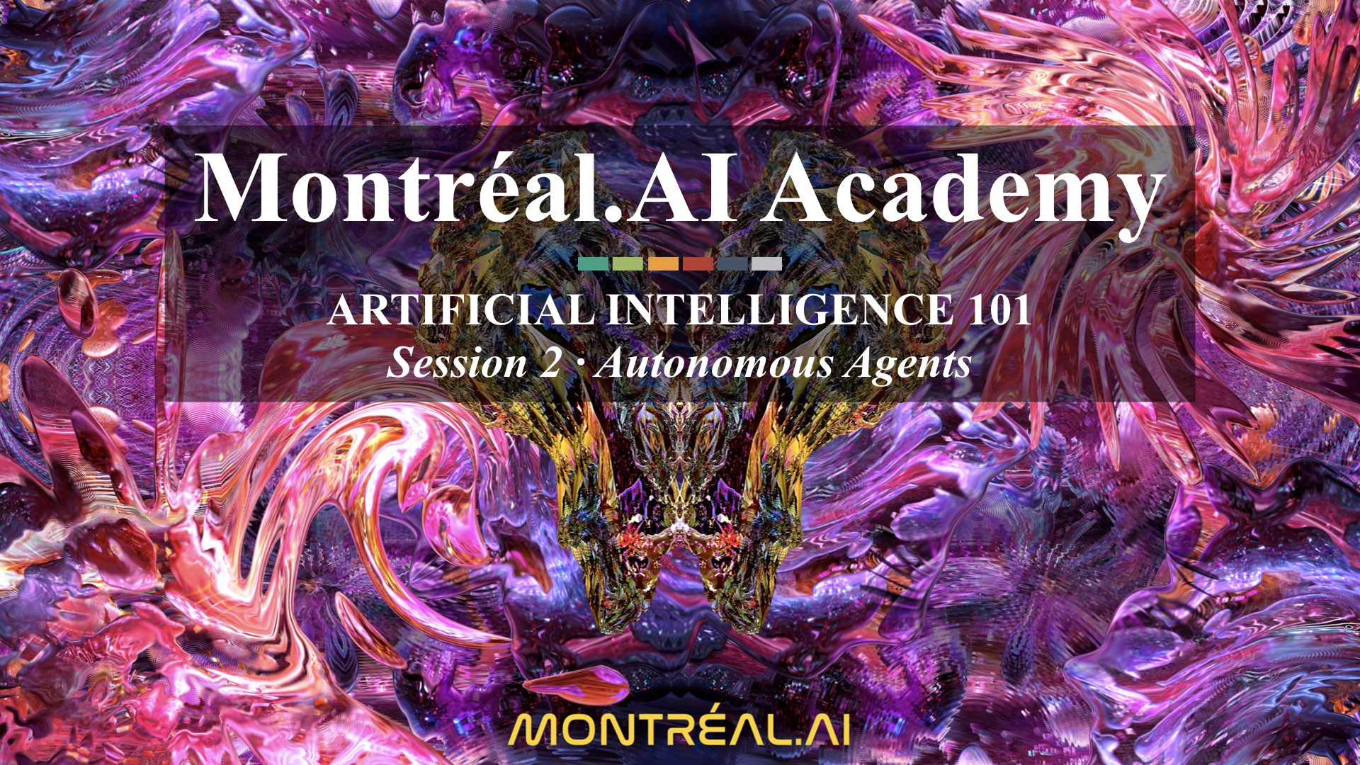 Artificial Intelligence 101: The First World-Class Overview of AI for the General Public | Autonomous Agents