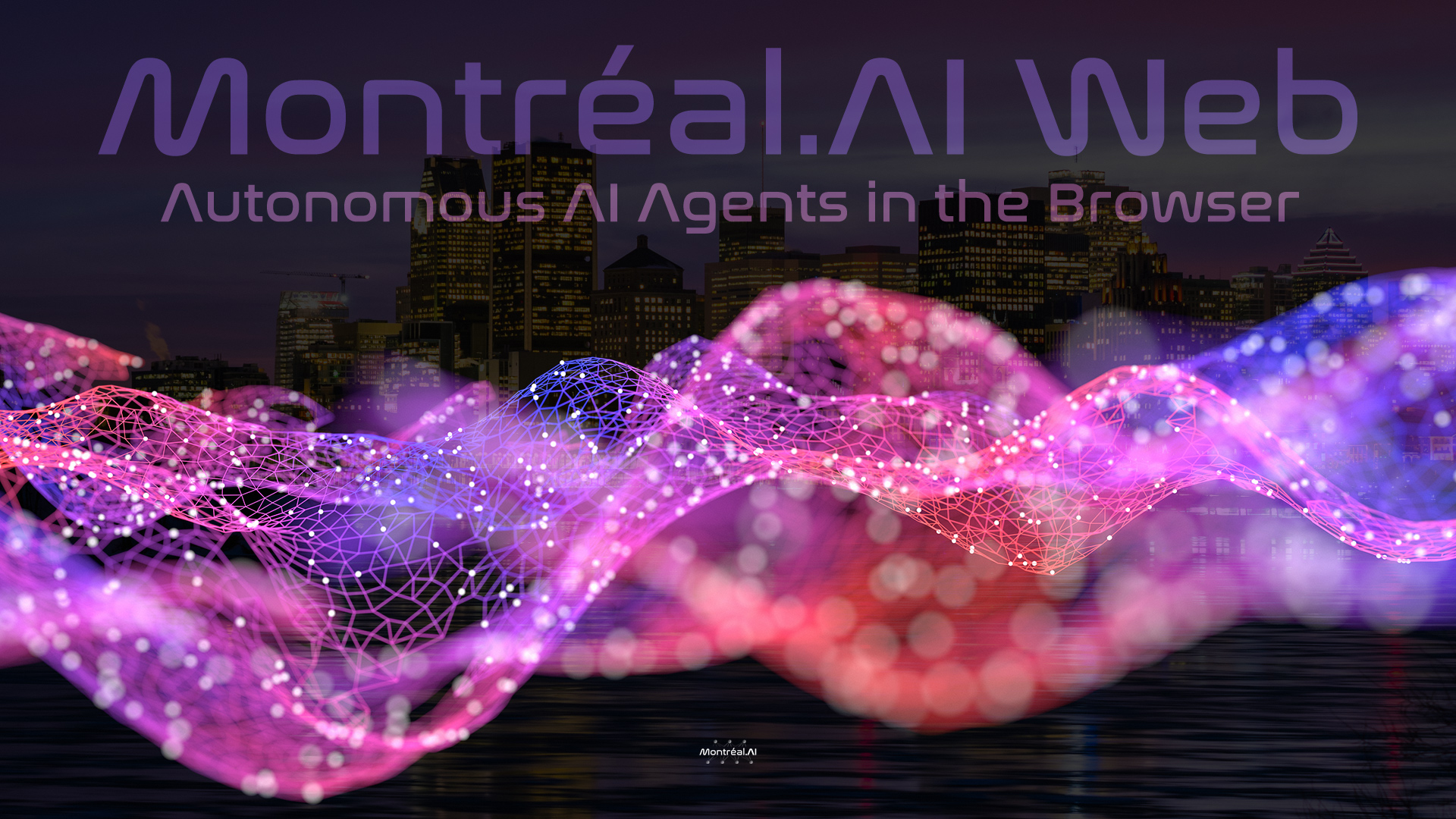 Québec.AI Web — Artificial Intelligence for the Web