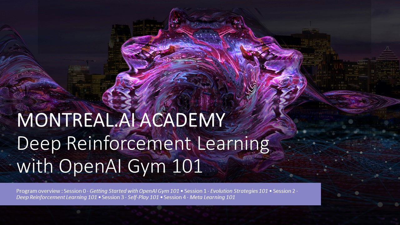 Online Event: Deep Reinforcement Learning with OpenAI Gym 101