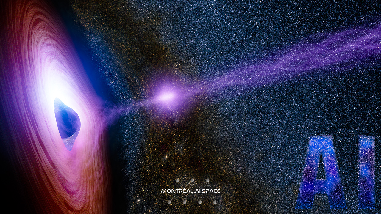 A Supermassive Black Hole | Image credit : NASA/JPL-Caltech